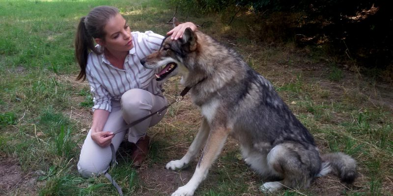 Yvonne Catterfeld und Wolf
